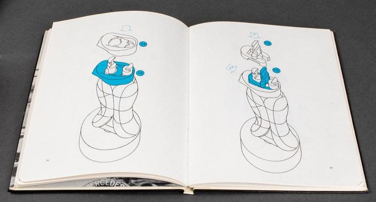 Miguel Ortiz Berrocal La Mini Cariatide Puzzle Sculpture For Sale 3