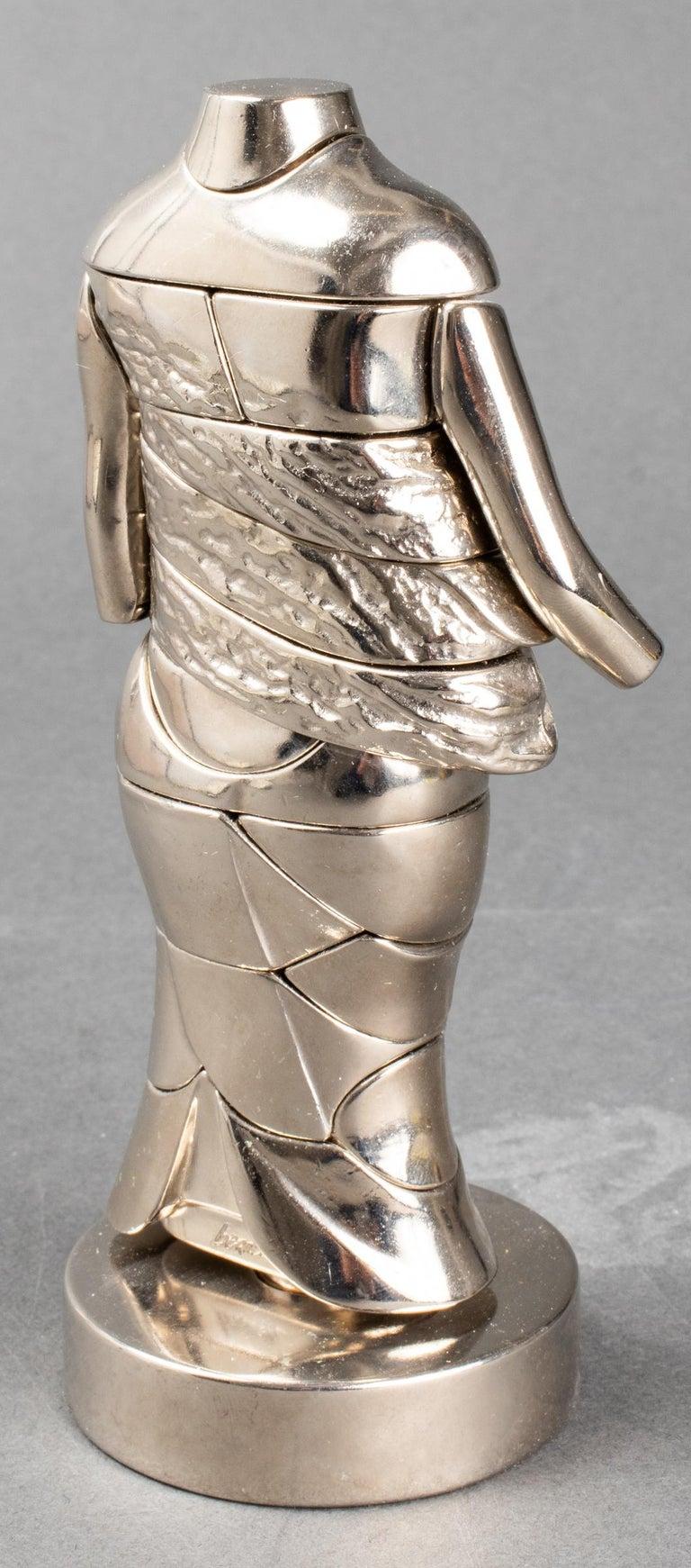 European Miguel Ortiz Berrocal La Mini Cariatide Puzzle Sculpture For Sale