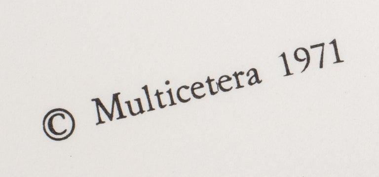 Miguel Ortiz Berrocal La Mini Cariatide Puzzle Sculpture For Sale 1