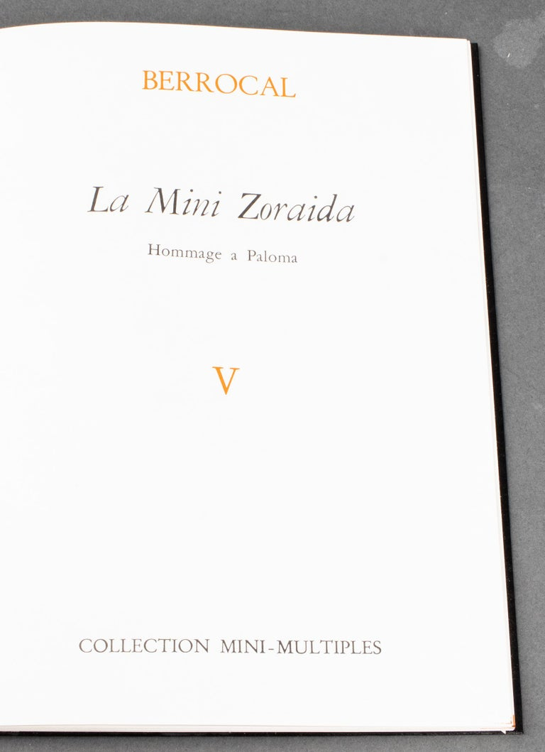 Miguel Ortiz Berrocal Mini-Zoraida Puzzle Sculpture For Sale 3