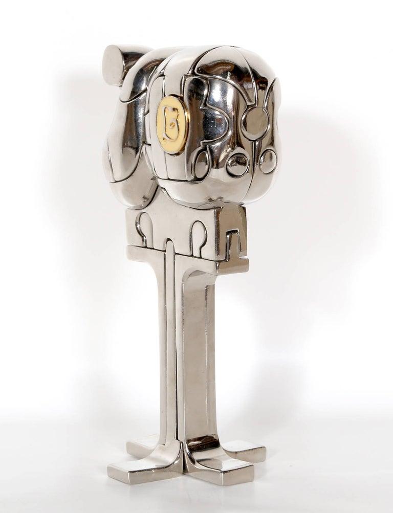 Mini Cristina, Puzzle Sculpture by Berrocal For Sale 1