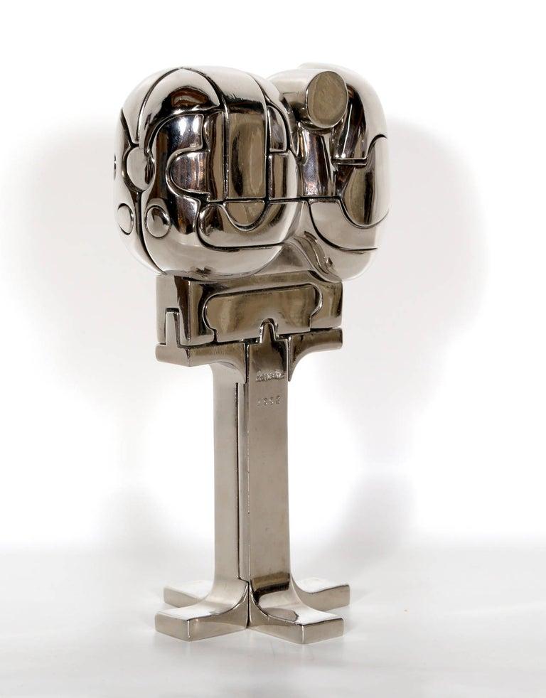 Mini Cristina, Puzzle Sculpture by Berrocal For Sale 2