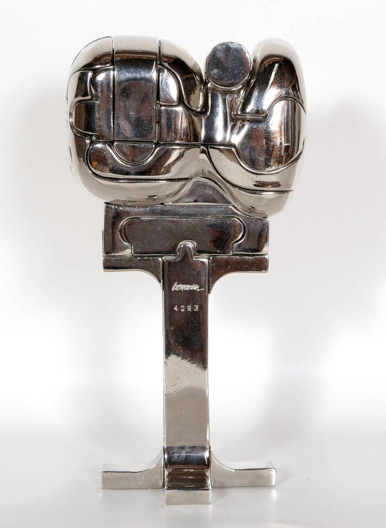 Mini Cristina, Puzzle Sculpture by Berrocal For Sale 5