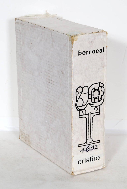 Mini Cristina, Puzzle Sculpture by Berrocal For Sale 8