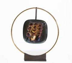 Torso Verona, Wearable Necklace Art Sculpture by Berrocal