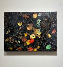Dark, Moody, Wet, Detailed, Oil Paintings, Medium Sized, Natural Diptych
