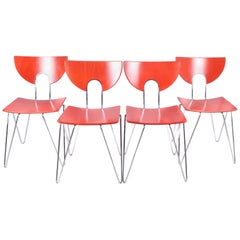 Mikado 1800 Dining Chairs by Walter Leeman for Kusch+Co