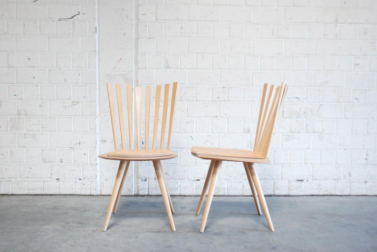 Mikado Dining Chairs Design Foersom & Hiort-Lorenzen by Fredericia For Sale 6