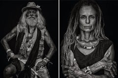 Francisco and Mariette, From Ibiza Series, Diptych