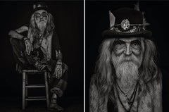 Jesus 2 and Jesus, From Ibiza Series, Diptych