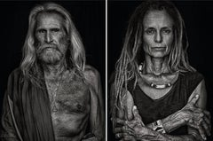 Pedro and Mariette, From Ibiza Series, Diptych