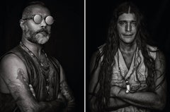 Ron and Anibal, From Ibiza Series, Diptych