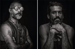Ron and Gonzalo, From Ibiza Series, Diptych