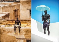 Yello and Kind of Blue, From Iconic Series, Diptych