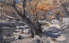 """""""A Gentle Slumber"""" Oil Painting"""