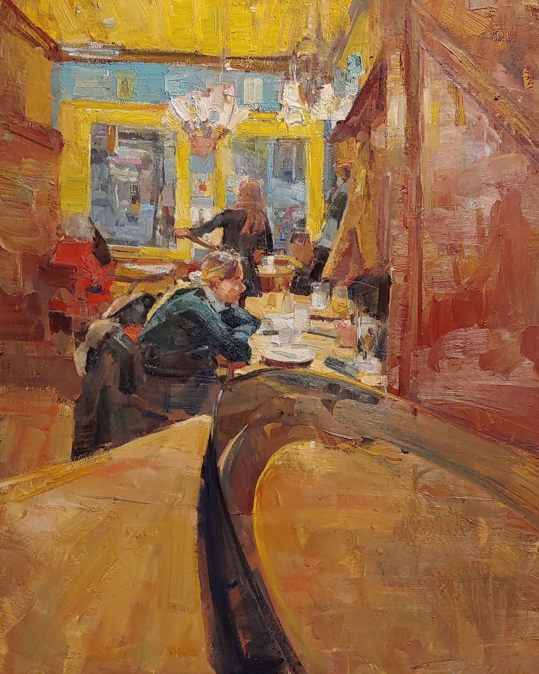 """""""Gottigen Bar"""" Oil Painting"""