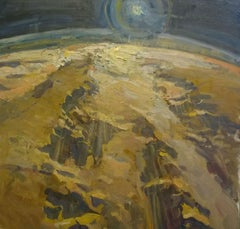 """View of Mars"" Oil Painting"