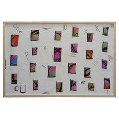 "Mike Adamo Painting ""Happy Windows"""