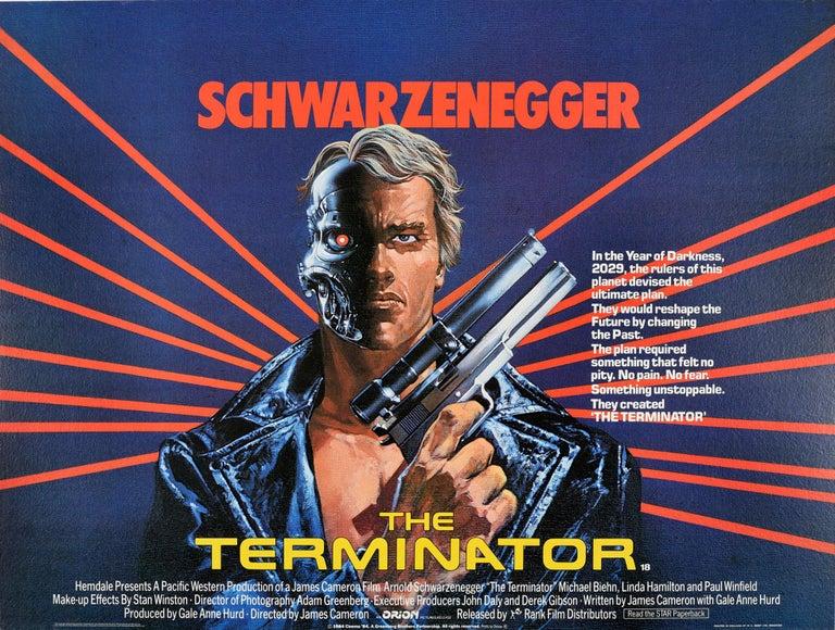 Mike Francis - Original Vintage Movie Poster Arnold Schwarzenegger ...