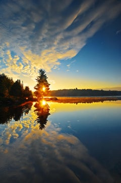 'Morning at Smoke Lake'' by Mike Grandmaison, Photograph, Archival Ink Jet