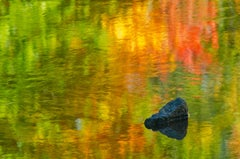 'Rock in Creek' by Mike Grandmaison, Photograph, Archival Ink Jet