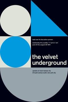 The Velvet Underground, limited edition graphic design print