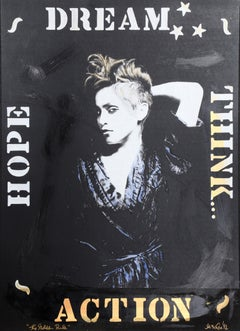 The Golden Rule (Madonna), Hand-Painted Silkscreen by Mike McKenzie