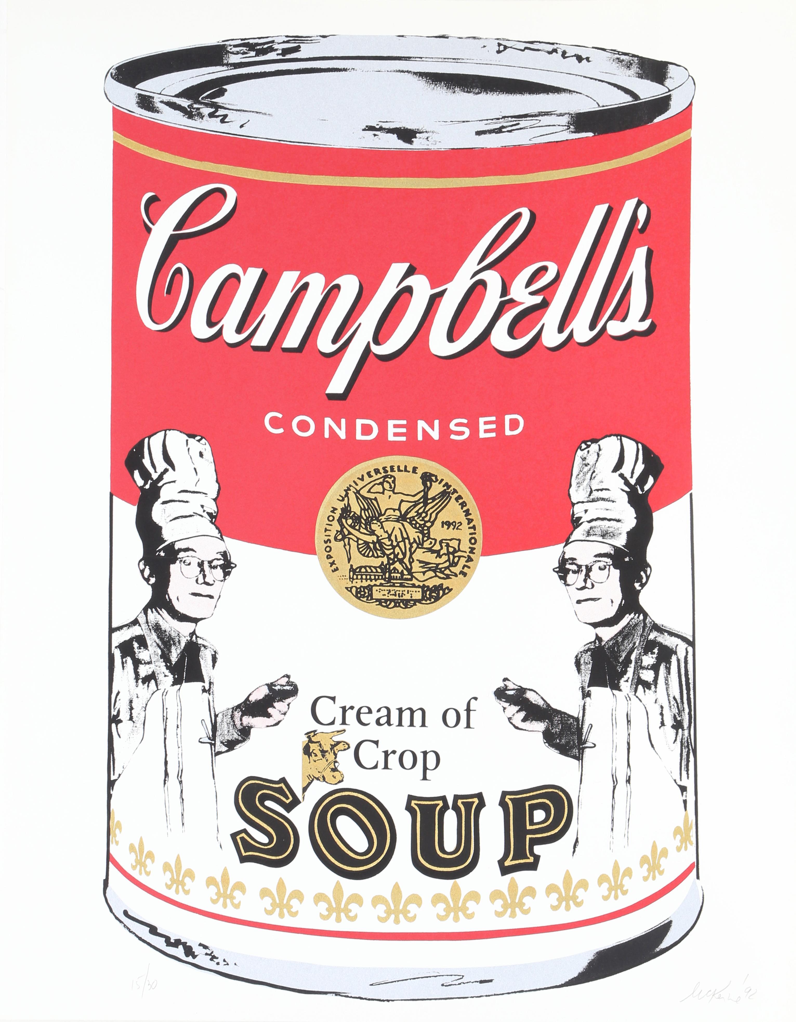 Campbells Soup, Silkscreen by Mike McKenzie