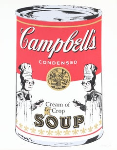 Campbells Soup, Silkscreen by Mike McKenzie