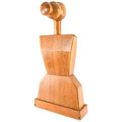 Mike Nevelson, Sculptural Wooden Valet