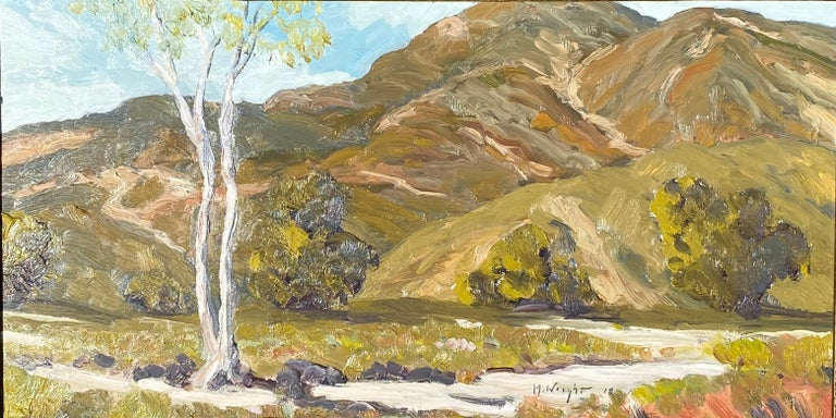 East of Pinnacles California State Park Landscape by Mike Wright For Sale 1