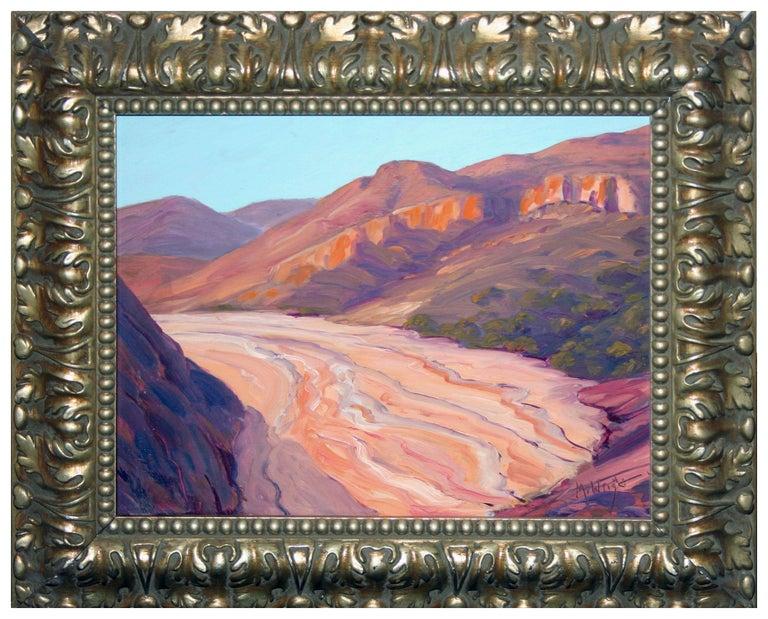 Mike Wright Landscape Painting - Red Rocks Utah Landscape