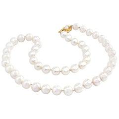 Mikimoto 17 1/2 Inch Pearl Necklace