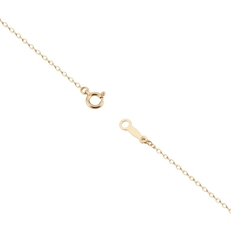 Mikimoto Pearl Station Yellow Gold Necklace In Excellent Condition For Sale In Stamford, CT