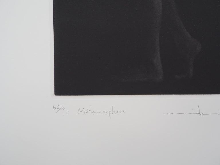 Metamorphosis - Original handsigned etching / 90ex For Sale 2