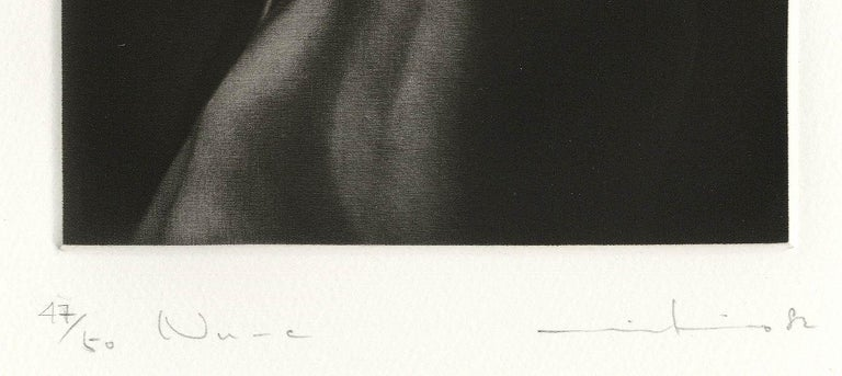 NU - C (translates to Nude C-- the model was the artist's wife) - Contemporary Print by Mikio Watanabe