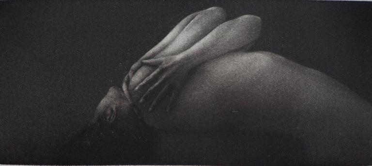 Vibration - Original handsigned etching / 90ex - Modern Print by Mikio Watanabe