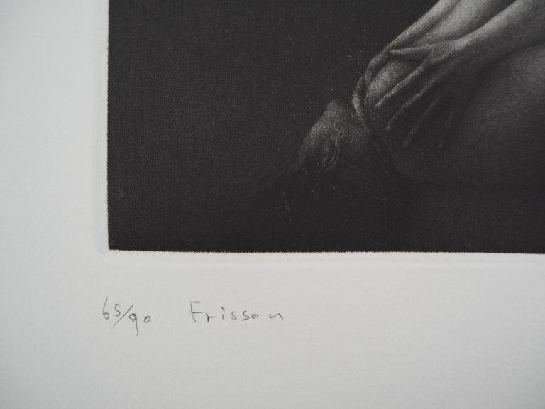 Vibration - Original handsigned etching / 90ex For Sale 1
