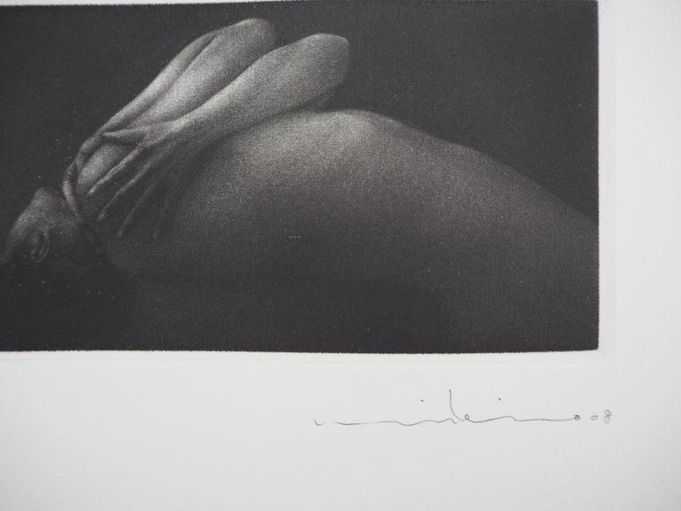 Vibration - Original handsigned etching / 90ex For Sale 2