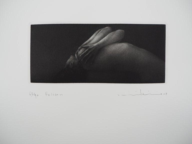 Mikio Watanabe Nude Print - Vibration - Original handsigned etching / 90ex