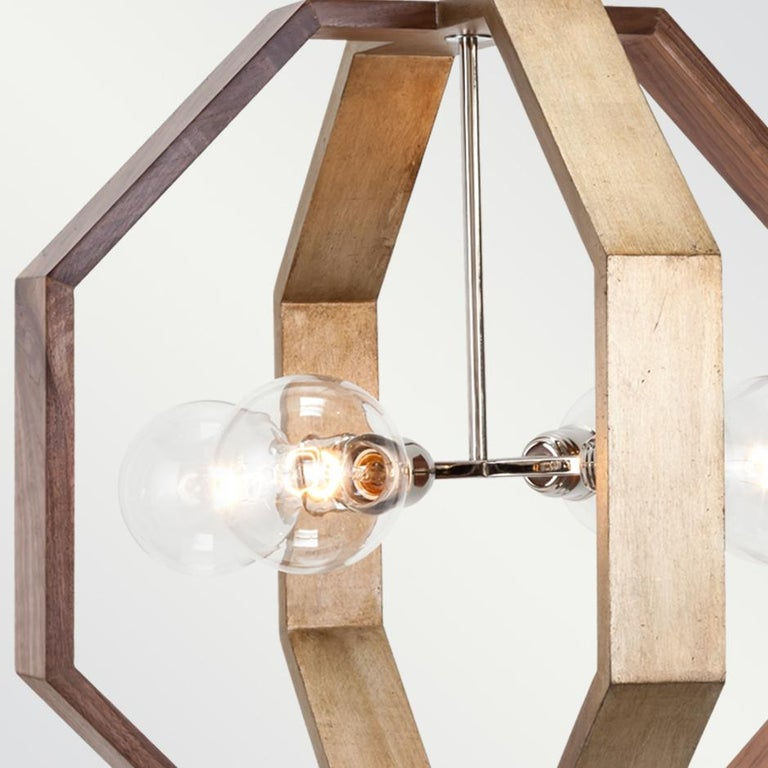 Light bulbs: Four clear globe g25 standard base, 60 watt max (not included). Fully custom and made to order in California. CSA listed.