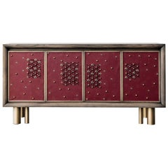 Mila Full Spring Blossom Sideboard by Chiara Provasi