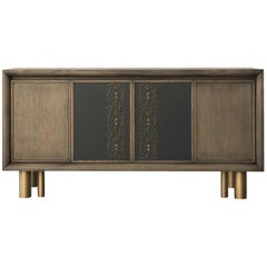 Mila Geometric Tattoo Sideboard by Chiara Provasi