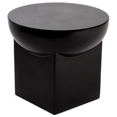 Mila Small, Table, Black, Ceramic, Minimal, European, 21st Century