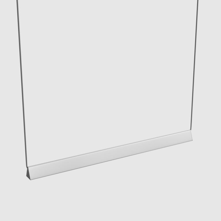 Mile 04, Polished Aluminum Linear Suspension, LED For Sale 1