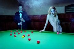 A Dazzling Beauty #3 – Miles Aldridge, Woman, Nude, Fashion, Erotic, Billiard