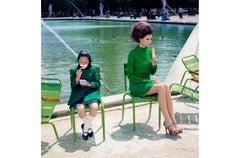 A Family Portrait #13 – Miles Aldridge, Colour, Woman, Child, Family, Summer