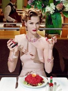 A Precious Glam #2 – Miles Aldridge, Woman, Fashion, Glamour, Portrait, Colour