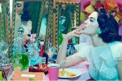 Actress #4  – Miles Aldridge, Woman, Fashion, Glamour, Cigarette, Show Business