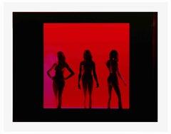 Bang! Bang! – Miles Aldridge, Woman, Art, Red, Human Figure, Fashion, Mannequin